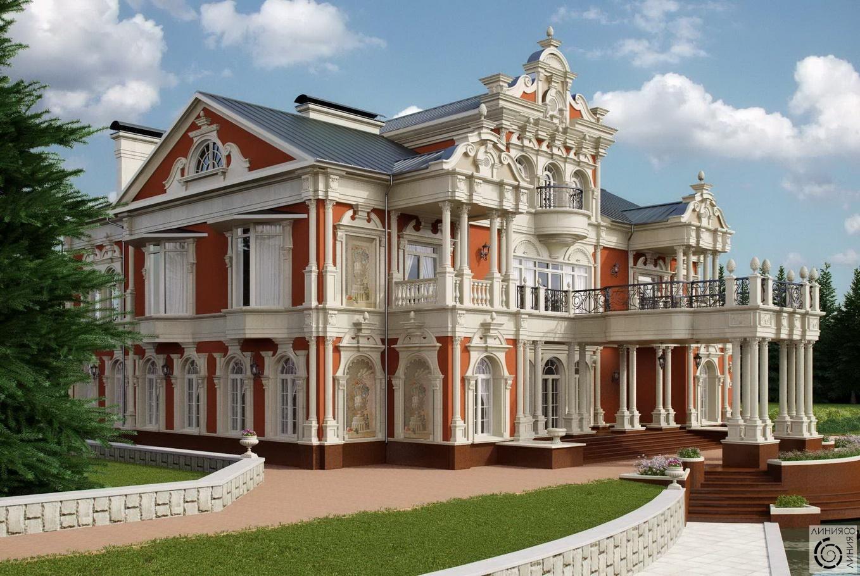 полные проекты борокко домов
