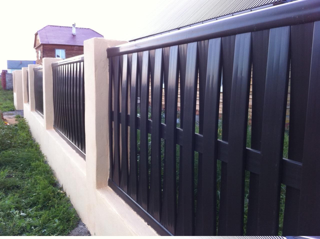 Забор решеткой своими руками фото 658