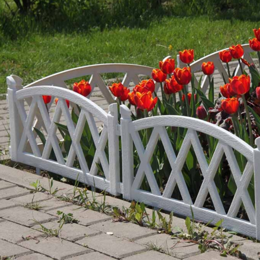 Обзор и изготовление оригинальных декоративных заборов для цветников