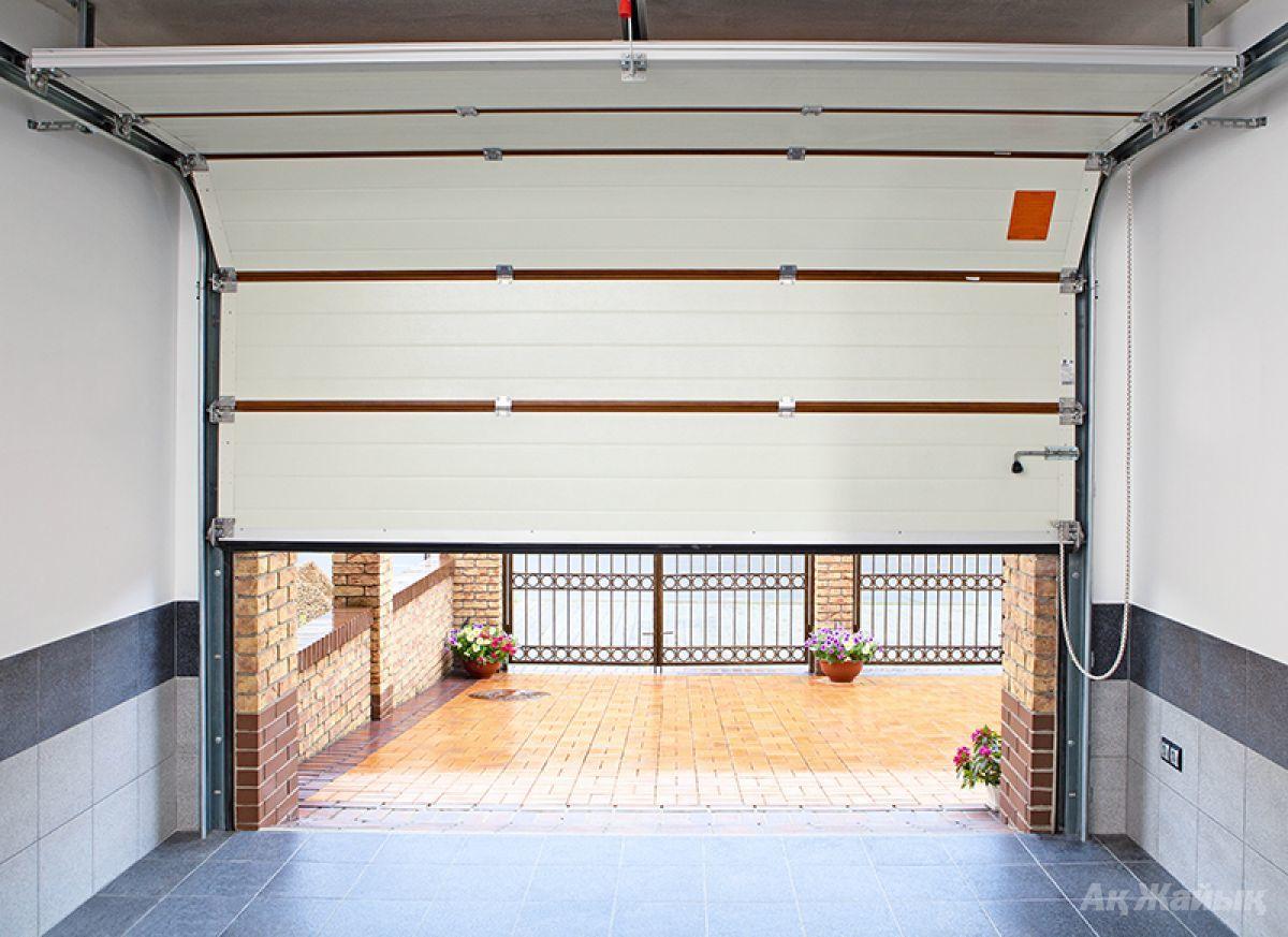 Откидные ворота для гаража своими руками чертежи: поэтапное изготовление 42