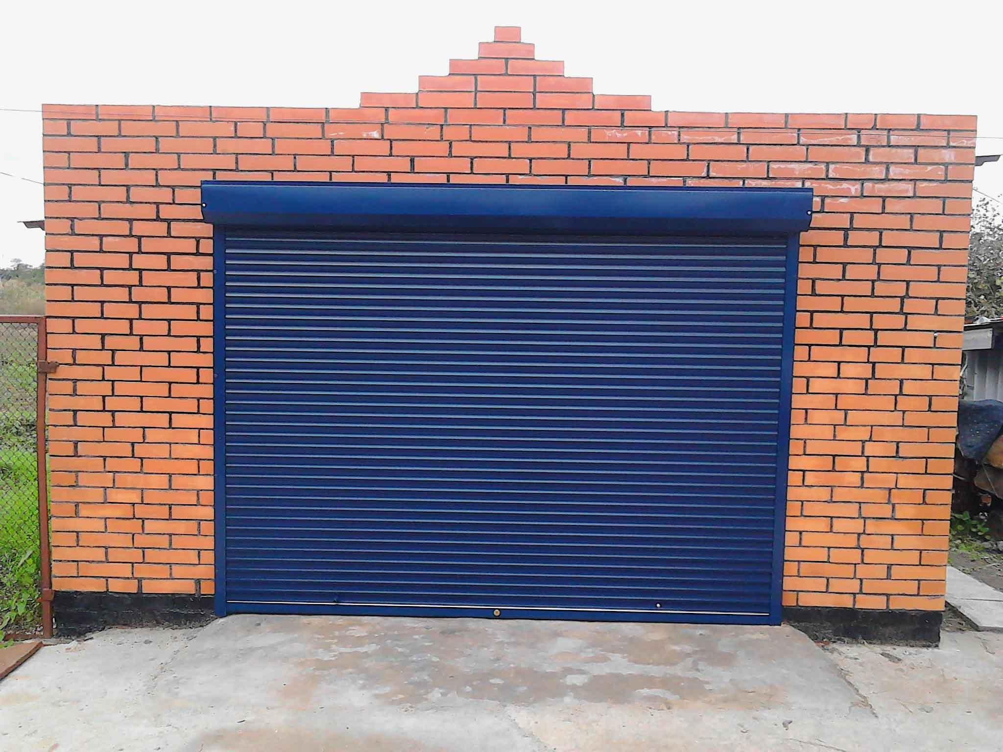 Легкие ворота для гаража своими руками