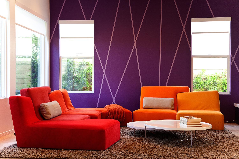 Покраска стен (118 фото): варианты окраски поверхностей в квартире, в какой  цвет должны быть покрашены бетонные перегородки, интересные примеры в  интерьере