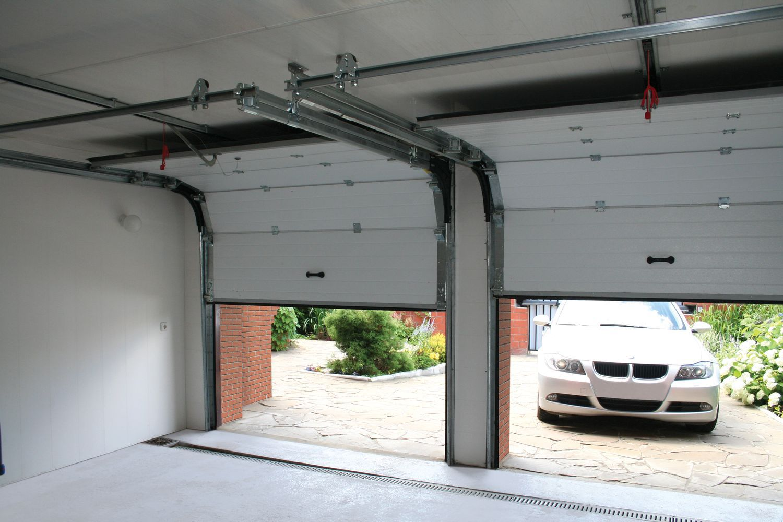 Подъемные гаражные ворота своими руками. Как смастерить 3