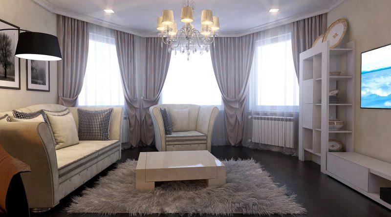 спальня эркер дизайн