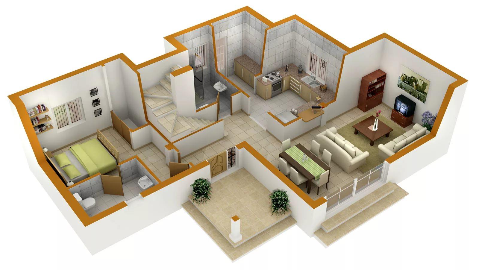 Проекты бюджетных домов своими руками фото 202