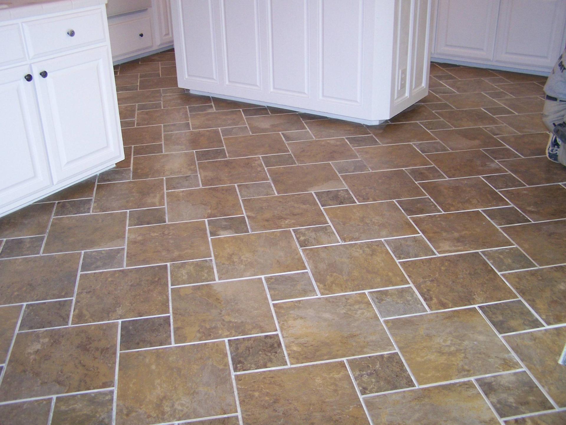 Basement ceramic tile