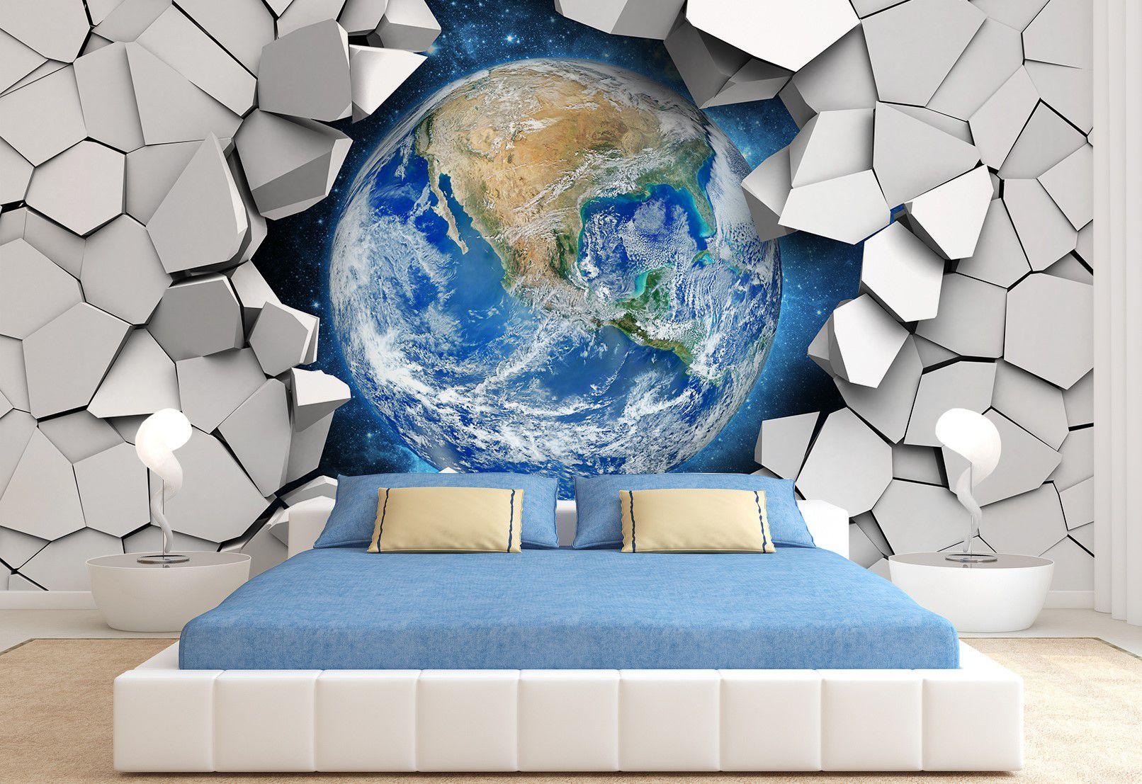 Объемные изображения для стен: где уместно их использовать