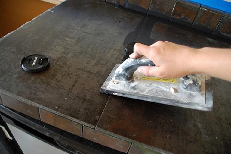 Ремонт пластиковой столешницы своими руками 66