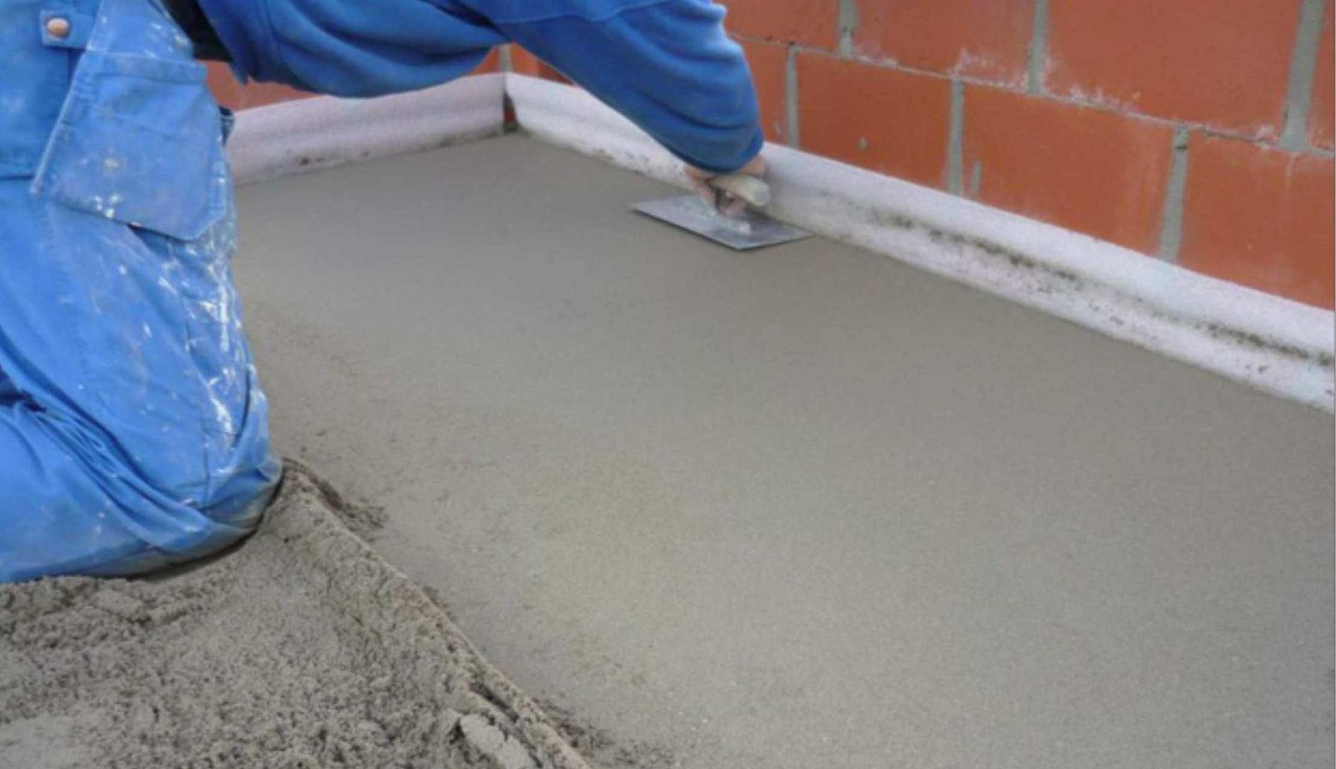 Как правильно сделать цементную стяжку