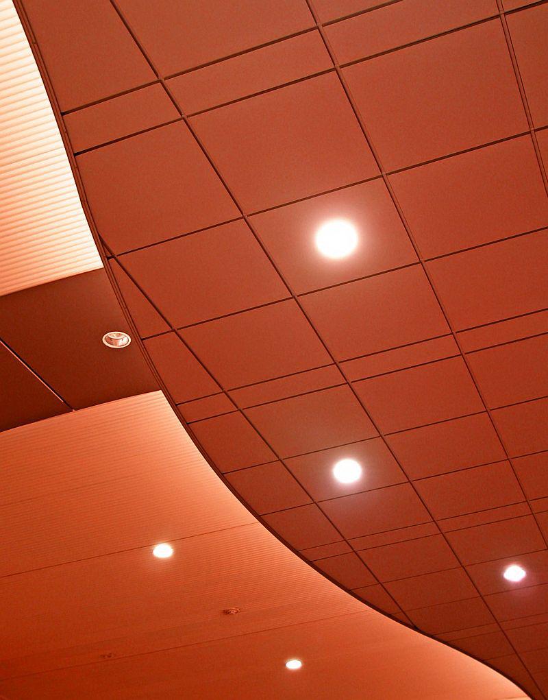 Варианты установки точечных светильников на натяжном потолке