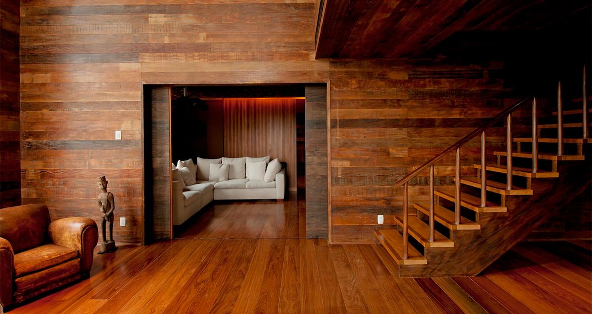 коттедже фото отделка в деревянная