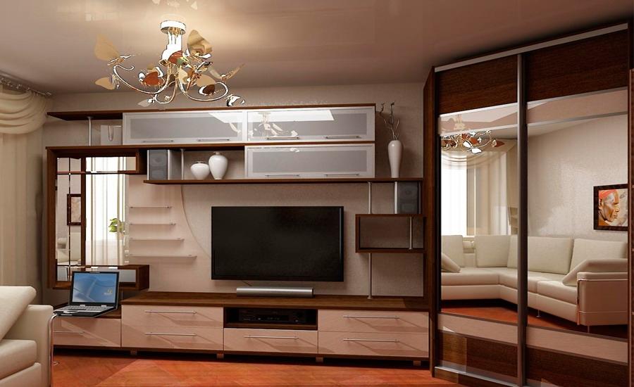 Угловой шкаф купе в гостиную - как выбрать?.
