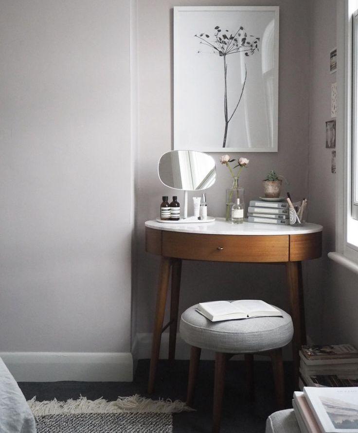 угловой туалетный столик с зеркалом 40 фото дамский будуарный
