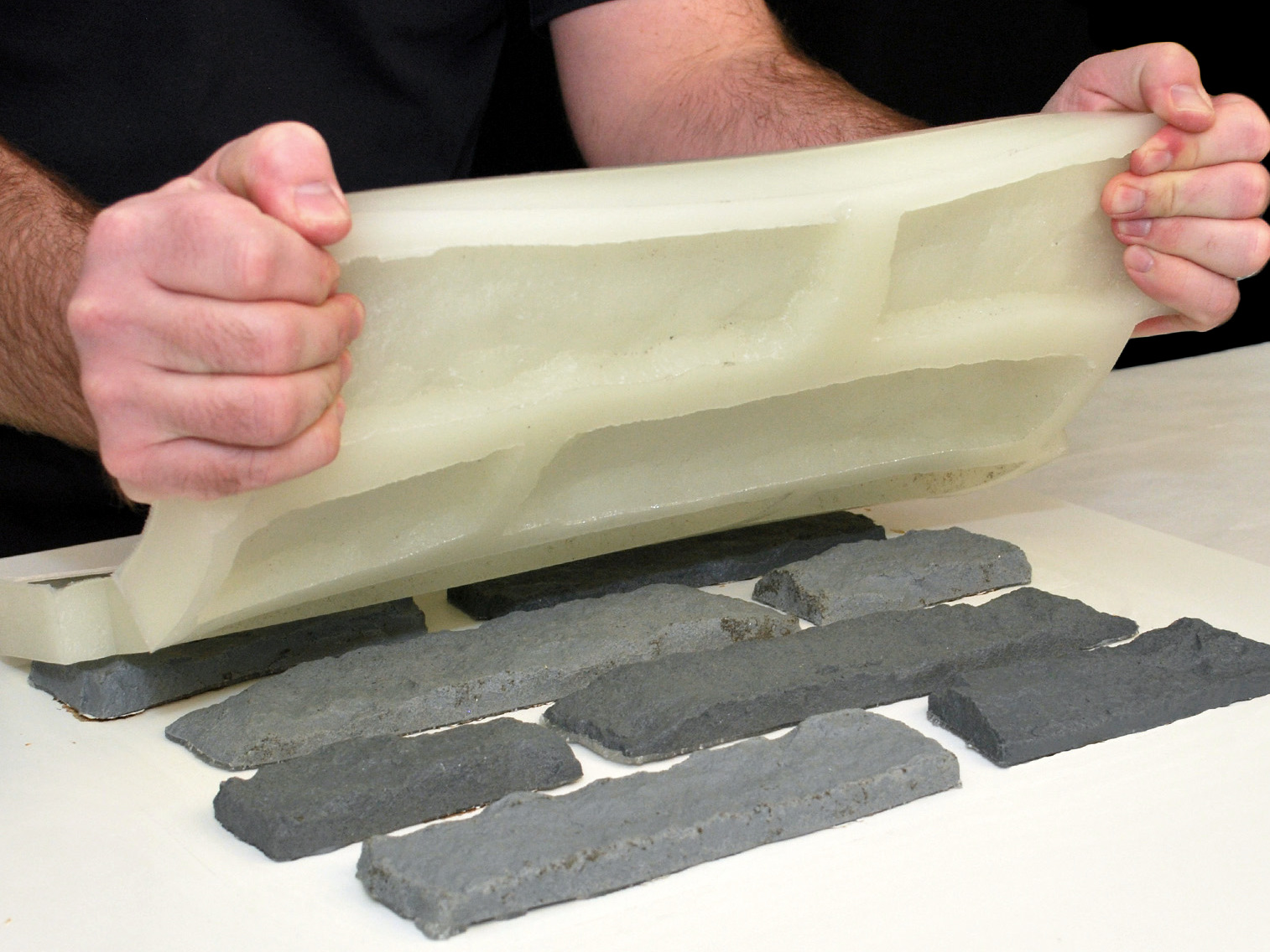 Форма для декоративного камня своими руками из полиуретана 36