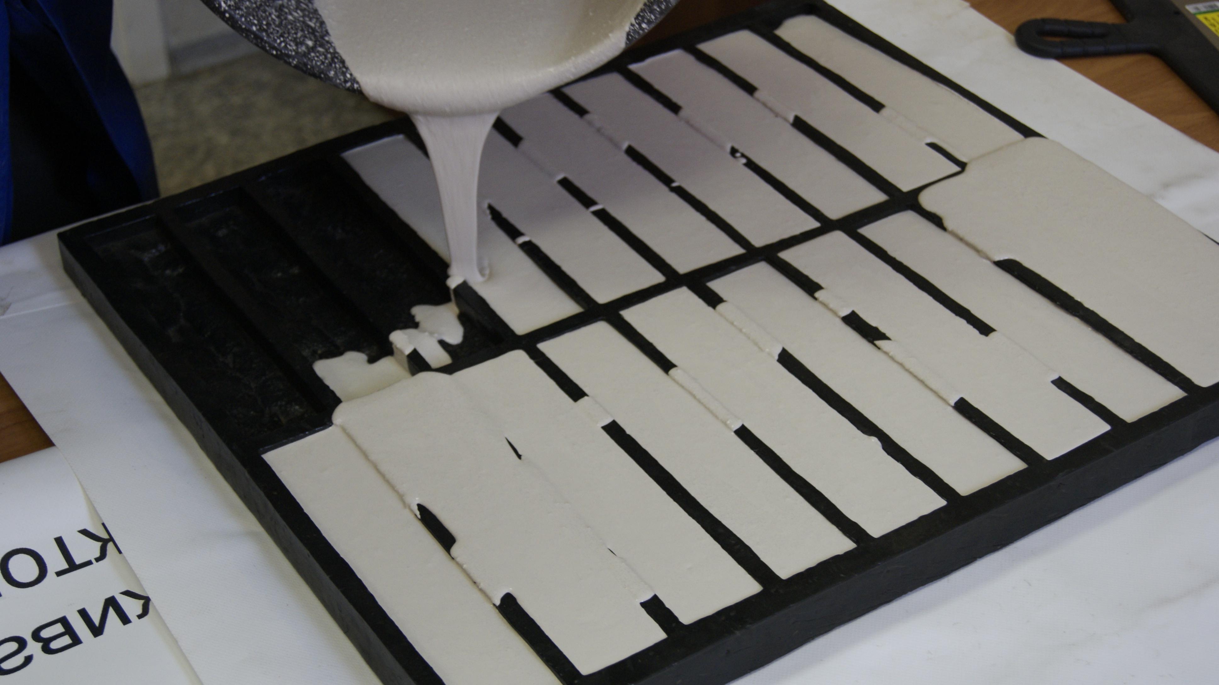 Формы для производства плитки своими руками