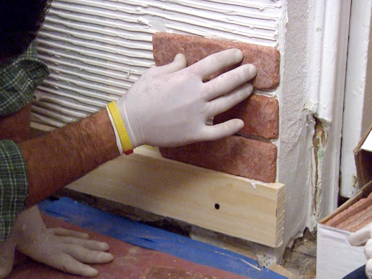 Монтаж декоративного камня своими руками 56
