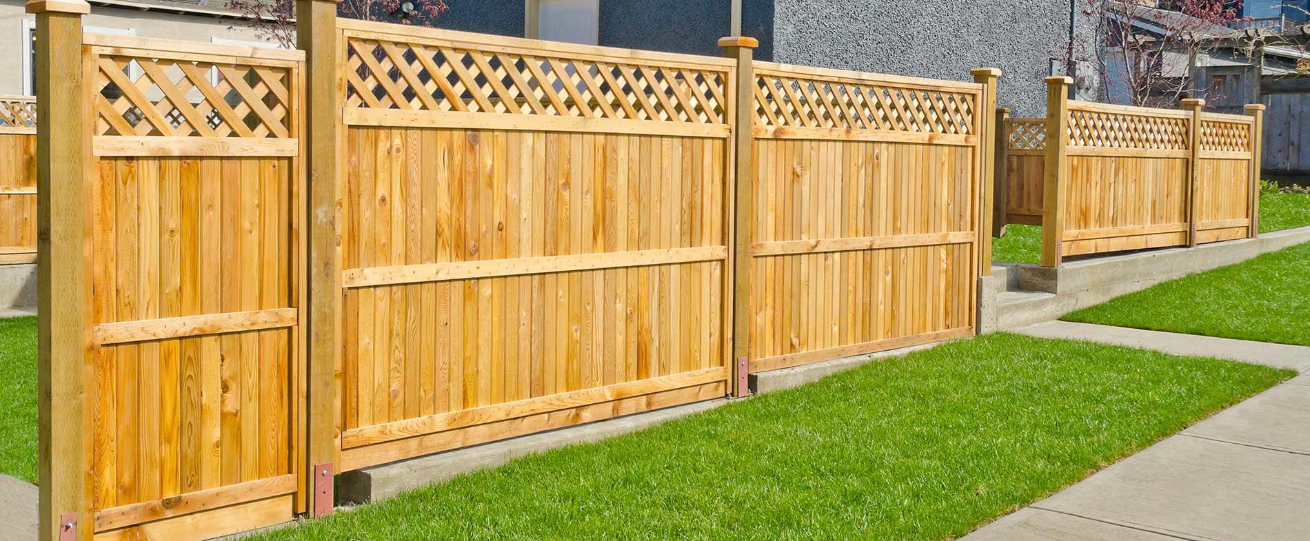 Как сделать деревянный забор - штакетник своими руками 70