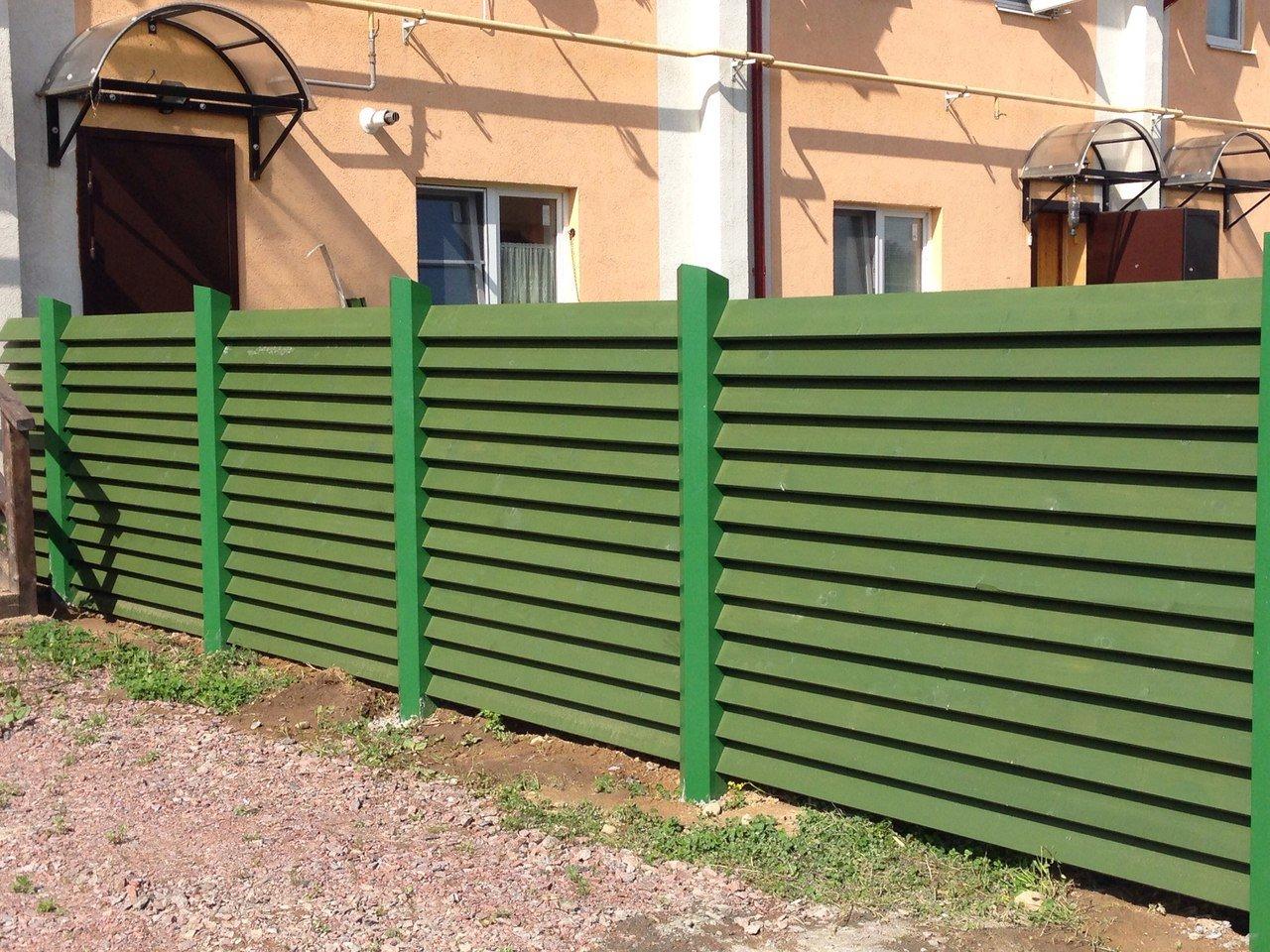 Как сделать забор жалюзи из дерева своими руками фото 974