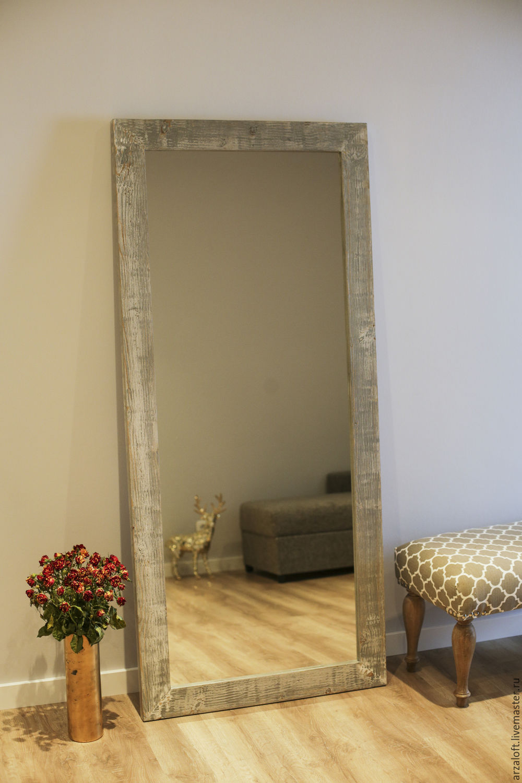 Как сделать большое зеркало