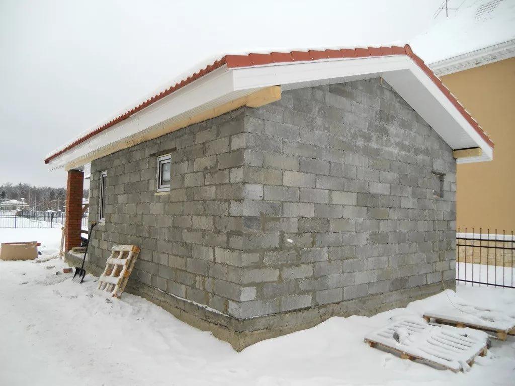 Как построить баню из керамзитоблоков своими руками фото 462