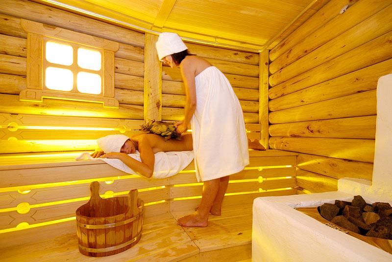 Устройство русской бани на дровах