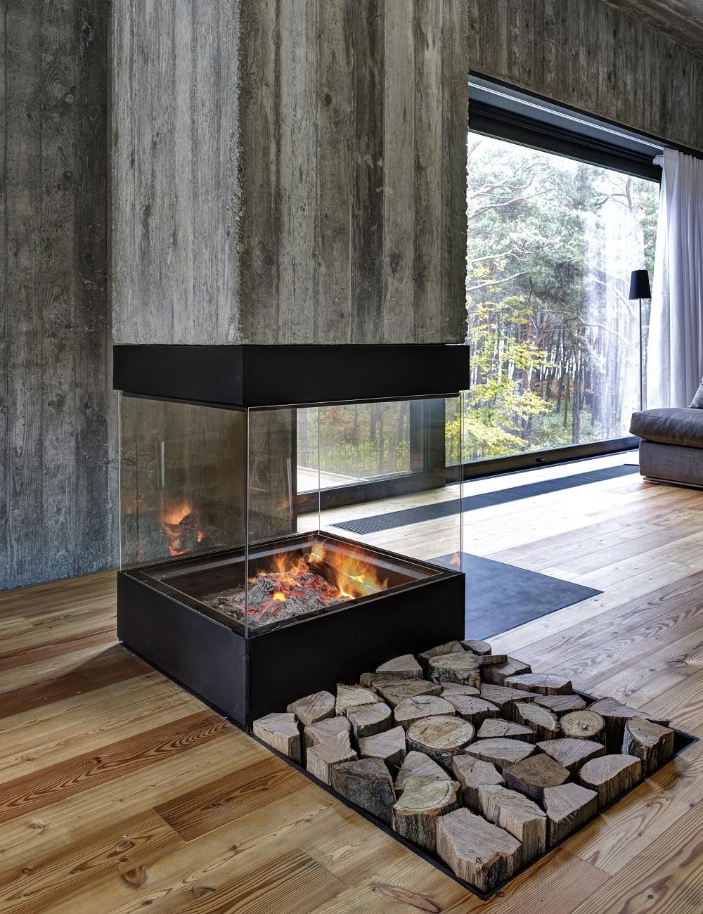 Камин бетона водонепроницаемость бетона таблица