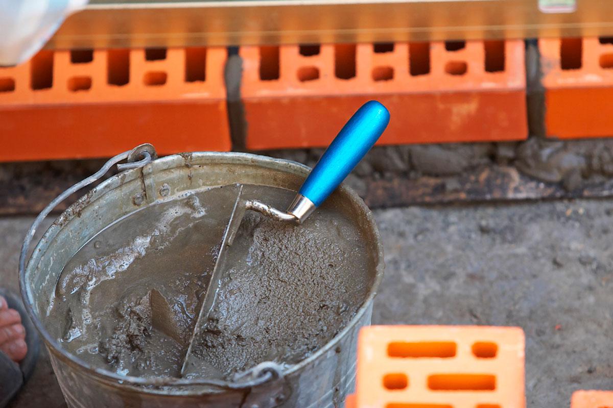 Как сделать раствор цемент с песком