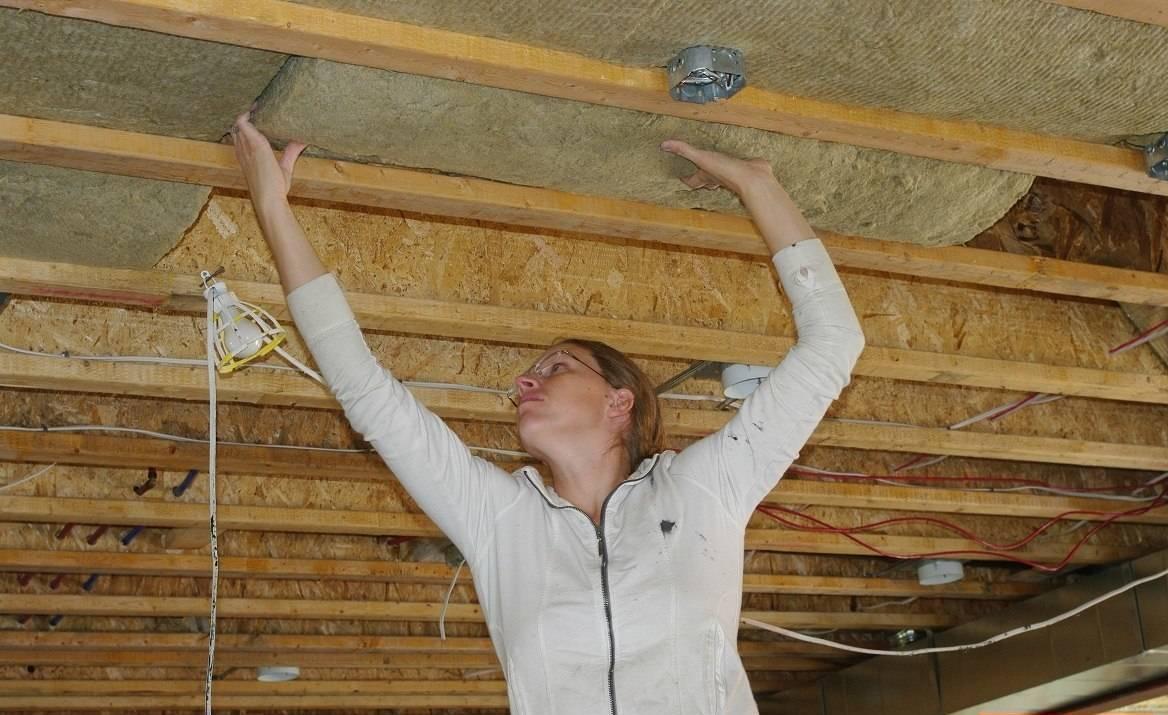 Как сделать потолок по перекрытиям 906