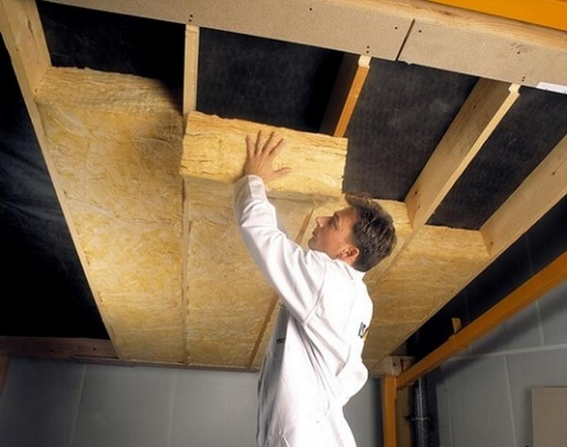 Как сделать потолок по перекрытиям 363