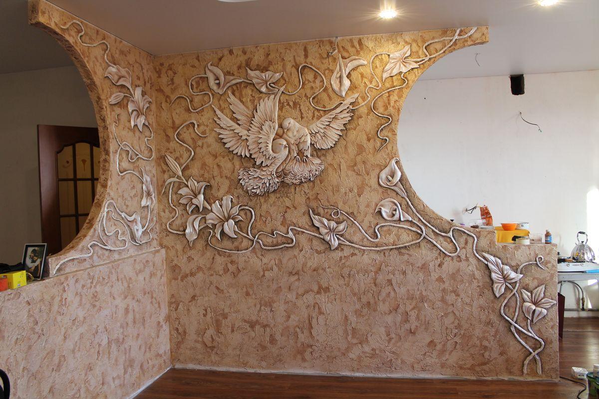 Декоративная лепнина своими руками декор стен