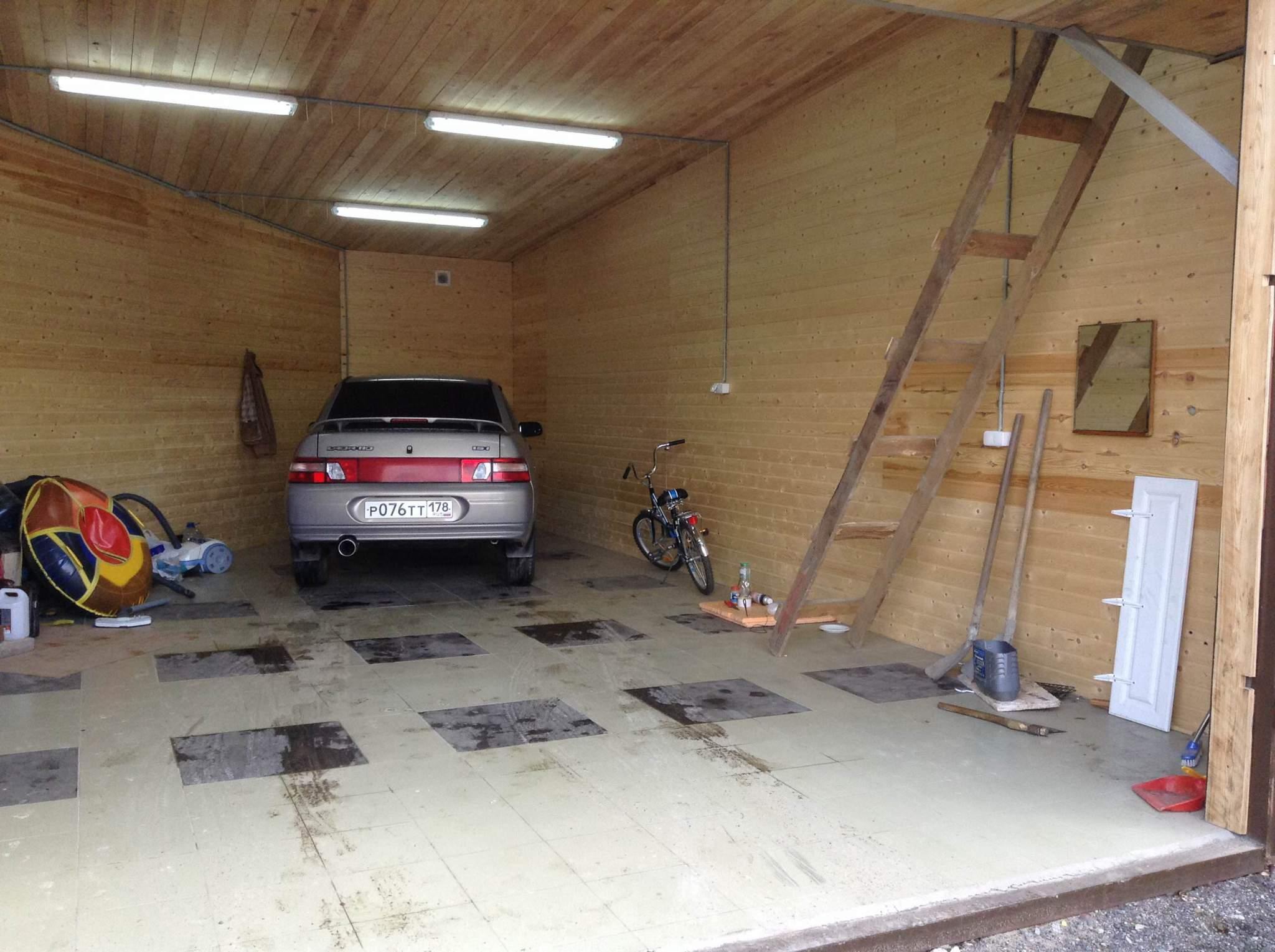 Фото гаражей внутри своими руками 93