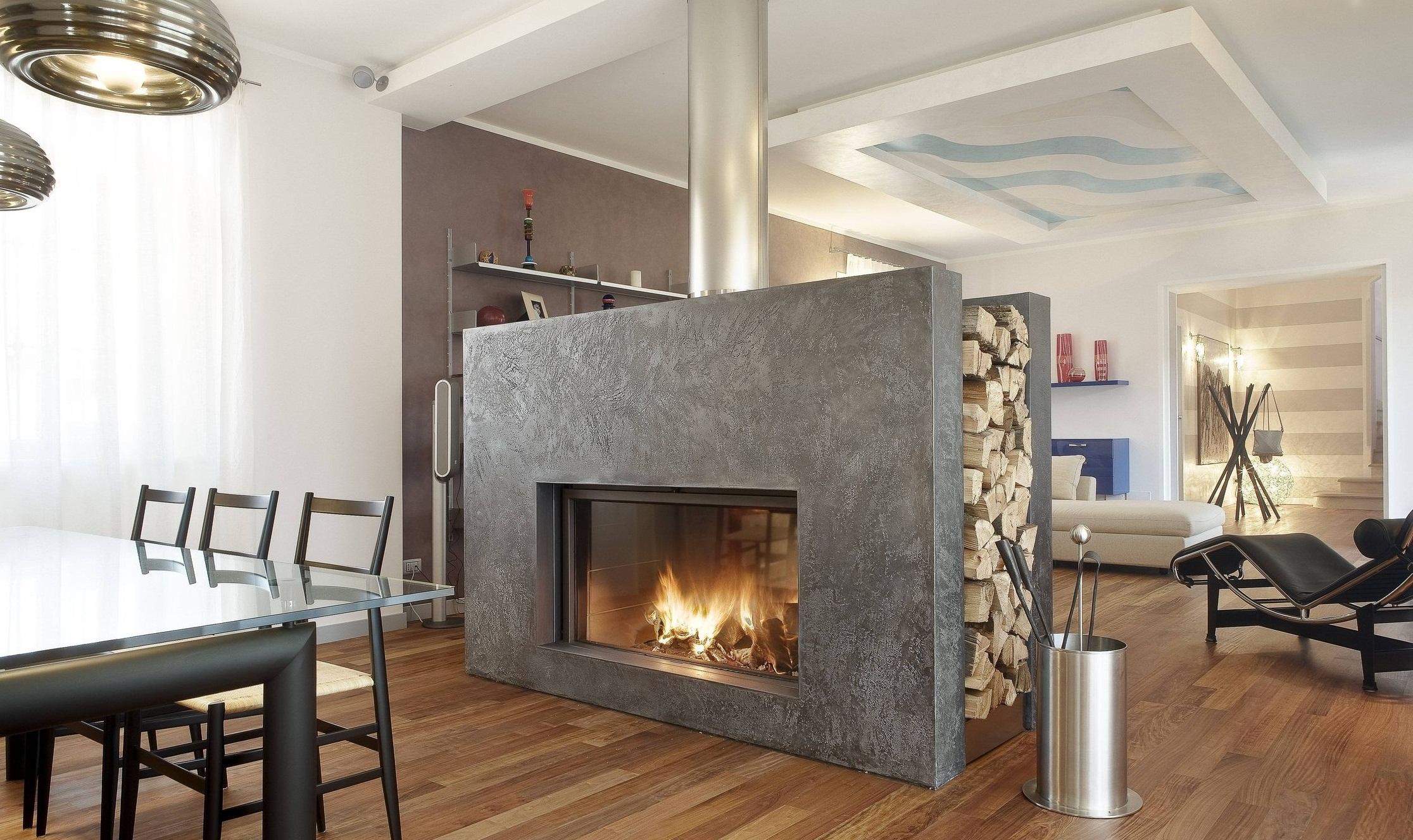 Как построить своими руками дровяной камин для дома, простая технология 36