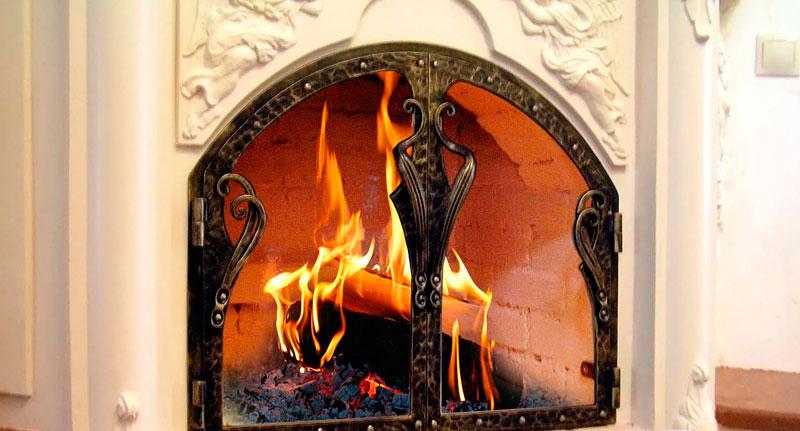Дверцы со стеклом для камина с фото: делаем своими руками каминные стеклянные дверцы