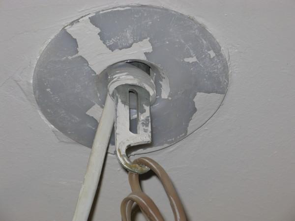 Как сделать крюки на потолок