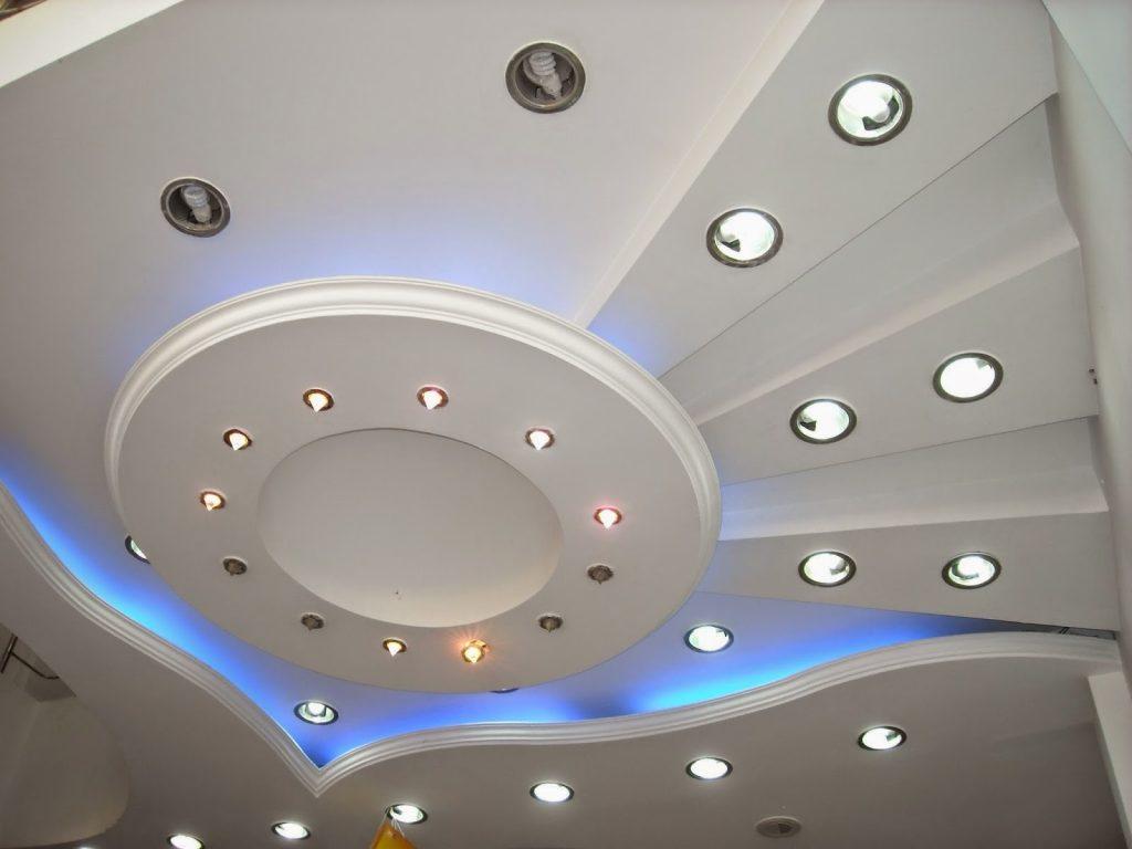потолок гипса кардон фото