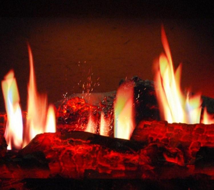 Эффект огня своими руками 90