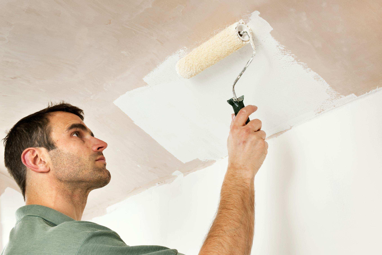 Как можно покрасить потолок фото