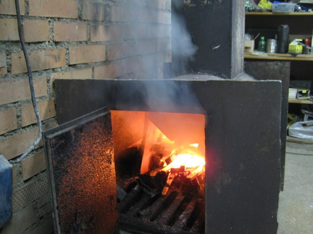 Как сделать печку чтобы не дымила 451
