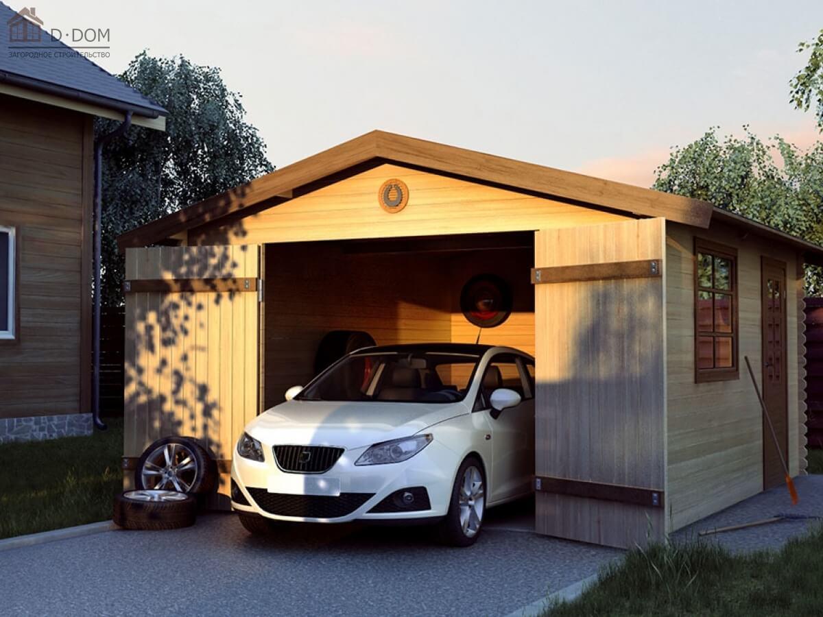 Из чего можно сделать гараж дешевле