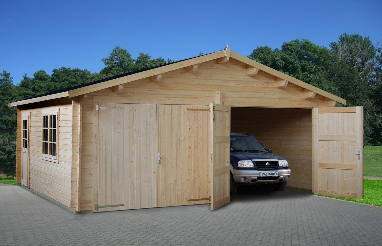 Фото как сделать гараж из досок 771