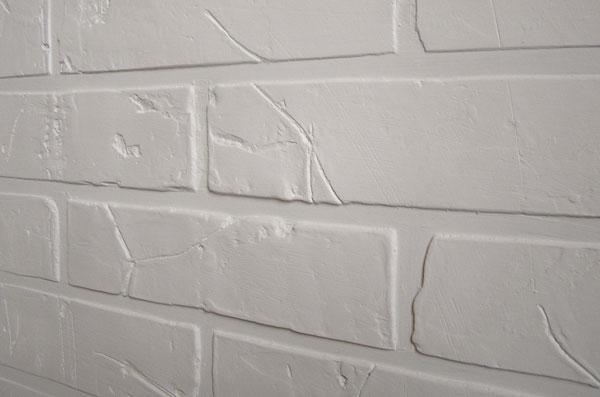 Имитация кирпичной стены из картона своими руками 17