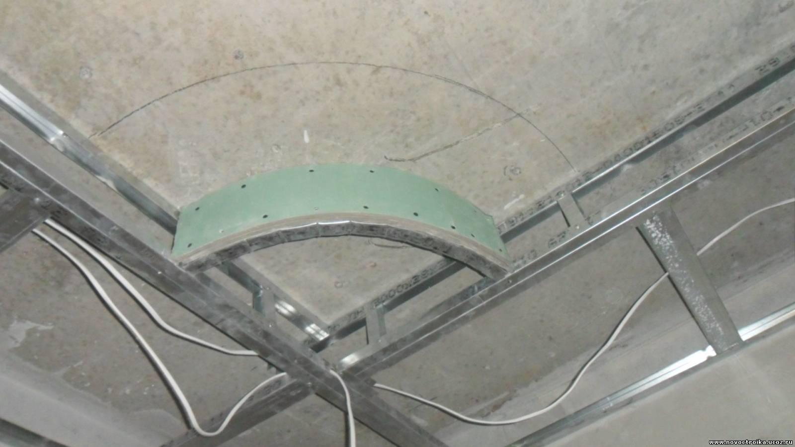 2-х уровневый потолок из гипсокартона своими руками 996