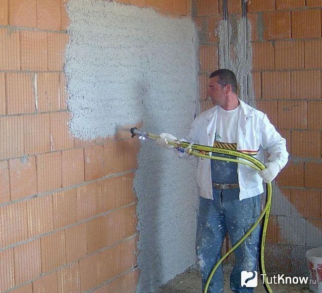 Сколько стоит оштукатурить стены цементным раствором купить бетон бахмут