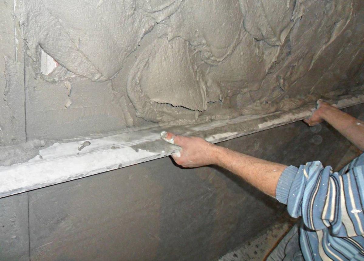 Как красить цементным раствором стены северский бетон