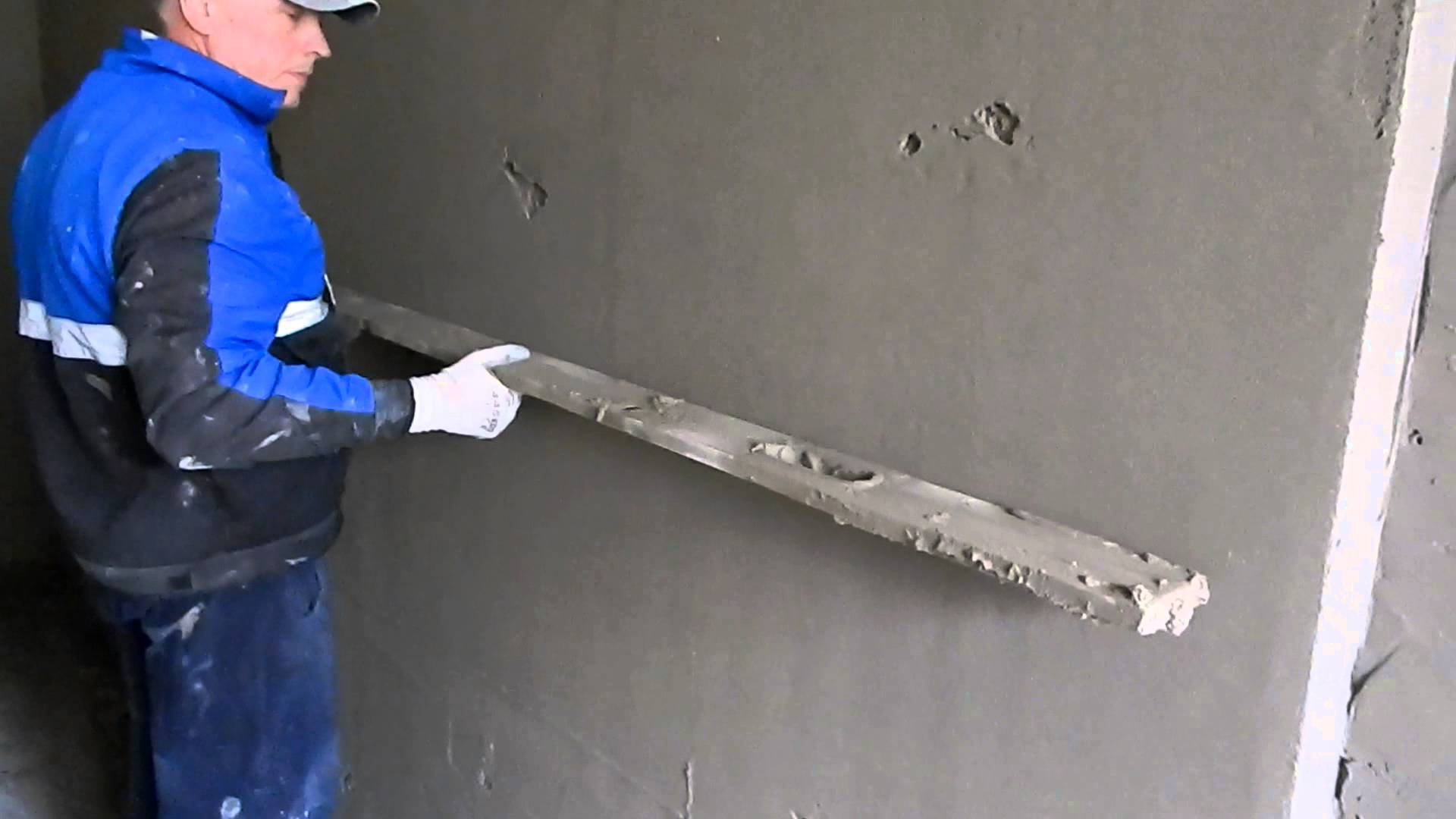 Как заштукатурить стены по маякам своими руками