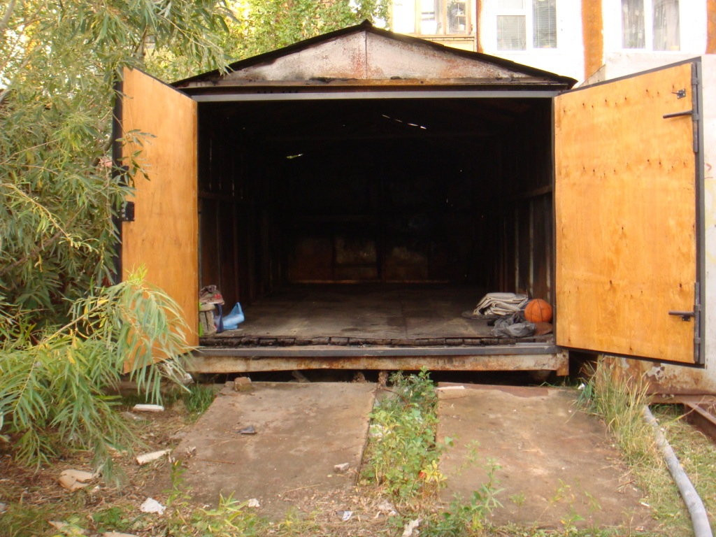 Самовольная установка гаража