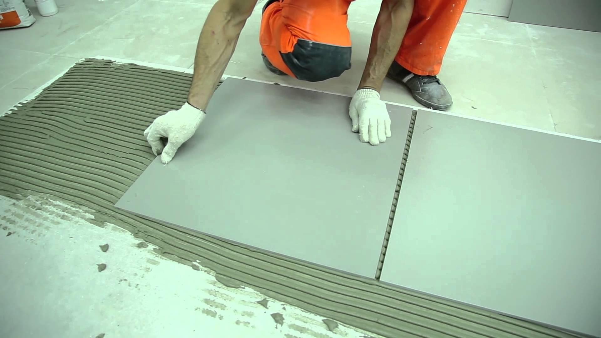 Клей для керамической плитки – как его выбрать и применять