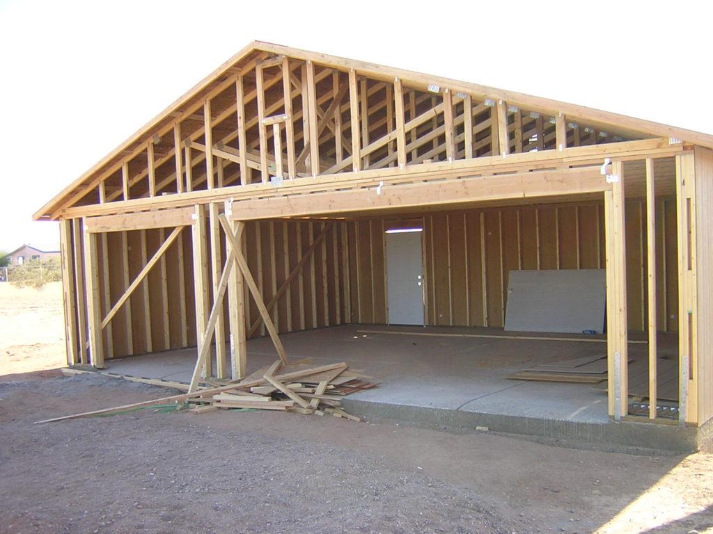 Как построить гараж дешево и быстро своими руками 58