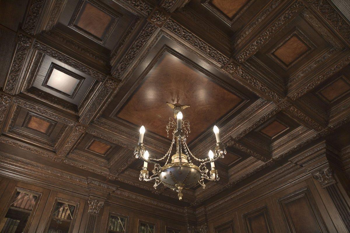 Кессоны на потолке своими руками фото 455