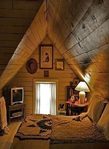 Чердак жилого дома